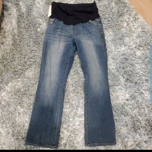 Liz Lange Maternity Blue Bootcut Jeans Size 16